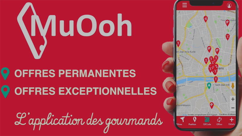 MuOoh, l'application des gourmands à Orléans (Loiret)
